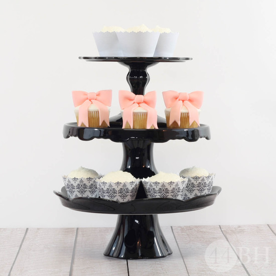 Rosanna Black Cake Pedestal Collection - Image 2