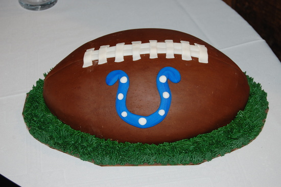 colts grooms cake