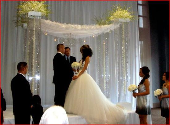 photo of Wedding Arch & Chuppah Rentals by Arc de Belle
