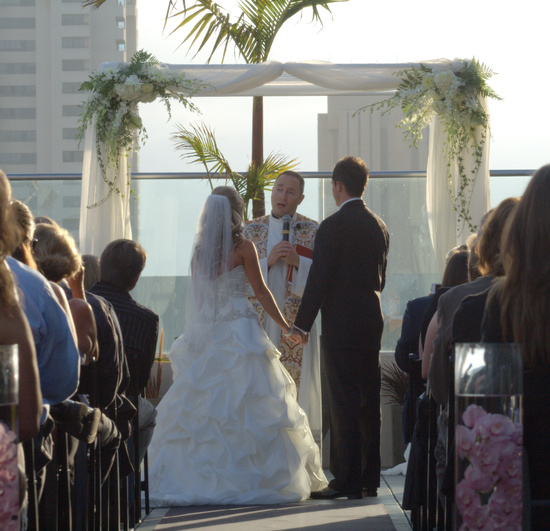 photo of Wedding Arch & Chuppah Rentals by Arc de Belle