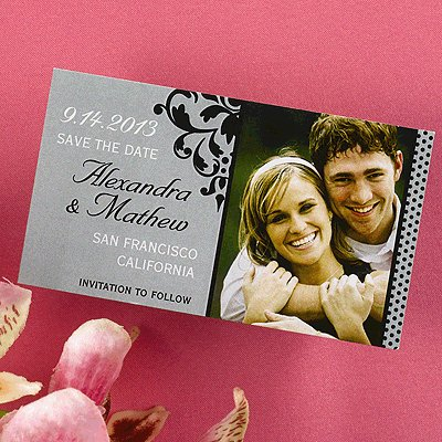 Grey_and_black_filigree_save_the_date_magnet.full