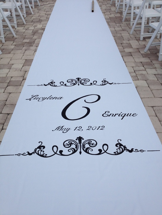photo of Artistic Aisle Runners