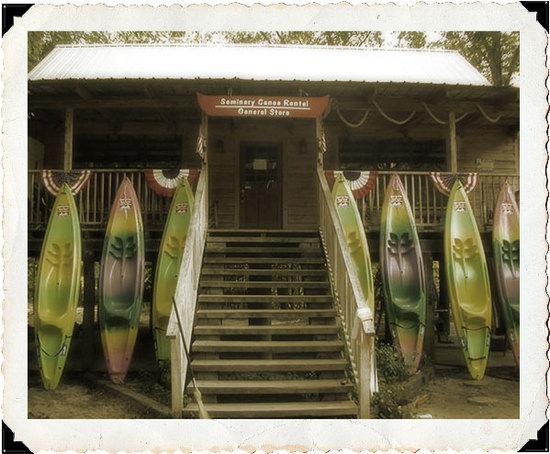 photo of Seminary Canoe Rental