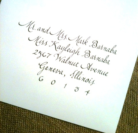 Calligraphy by Marcia Aronow