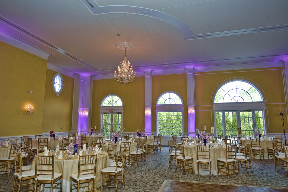 Grand Ballroom with purple lighting PhotoArt by Lu 2
