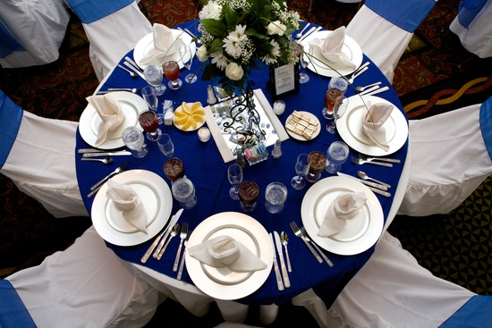Quince table setting