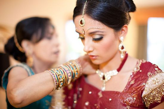 cultural-real-wedding-indian-weddings-chicago-il-gold-red-mahogony-stunning-bride__full