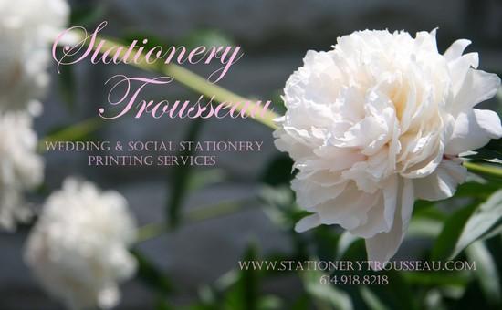 photo of Stationery Trousseau