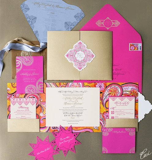 launch-partner-photos-ceci-new-york-wedding-stationery-hot-pink-orange-gold
