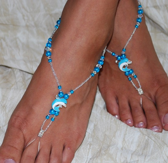 Dolphin Barefoot sandals 1
