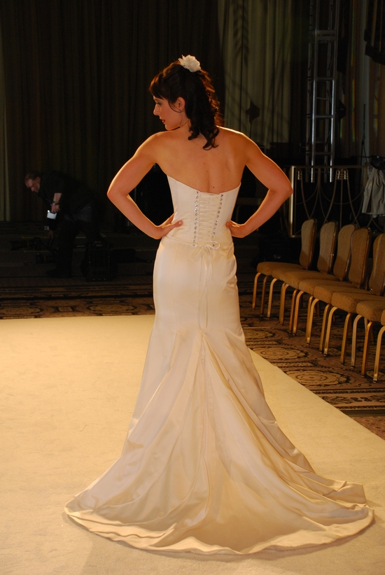 Corset on onewed for Wedding dress with corset top