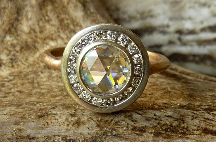 Unique engagement ring for etsy