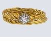 Unique-engagement-rings-wedding-bands-from-etsy-yellow-gold-braided-band.square