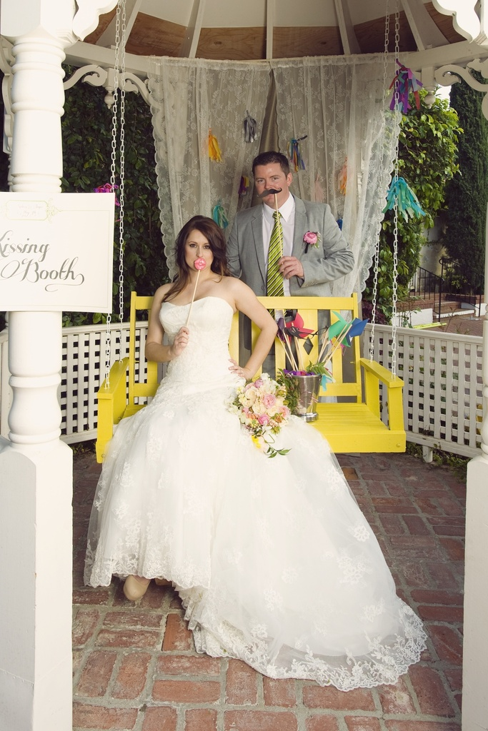 photo of Whimsical Garden Wedding Inspiration