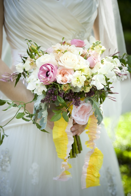 whimsical outdoor wedding garden venue romantic bridal bouquet