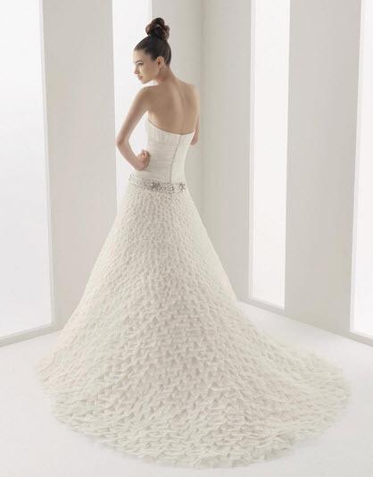 Aire-barcelona-navio-silk-a-line-strapless-wedding-dress-jeweled-belt-textured-skirt-back.full