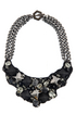 jewelry necklace ted rossi cosmic python bling bib 2511