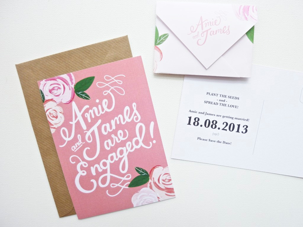 Gorgeous-wedding-invitations-hand-calligraphy-wedding-stationery-romantic-save-the-date.full