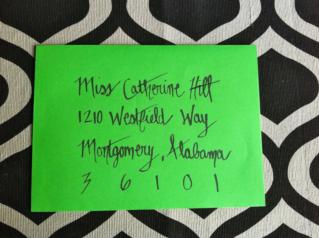 Gorgeous-wedding-invitations-hand-calligraphy-wedding-stationery-neon-green-envelope.full