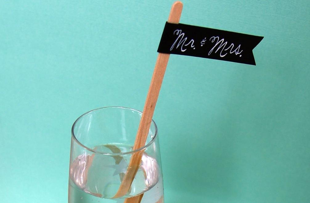 Custom-wedding-calligraphy-reception-drink-stirs-1.full