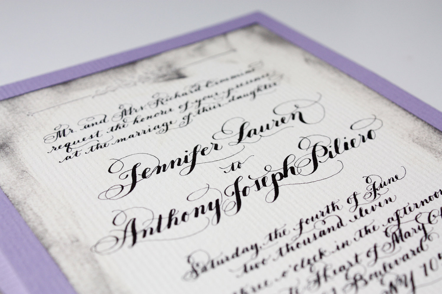 gorgeous wedding invitations hand calligraphy wedding