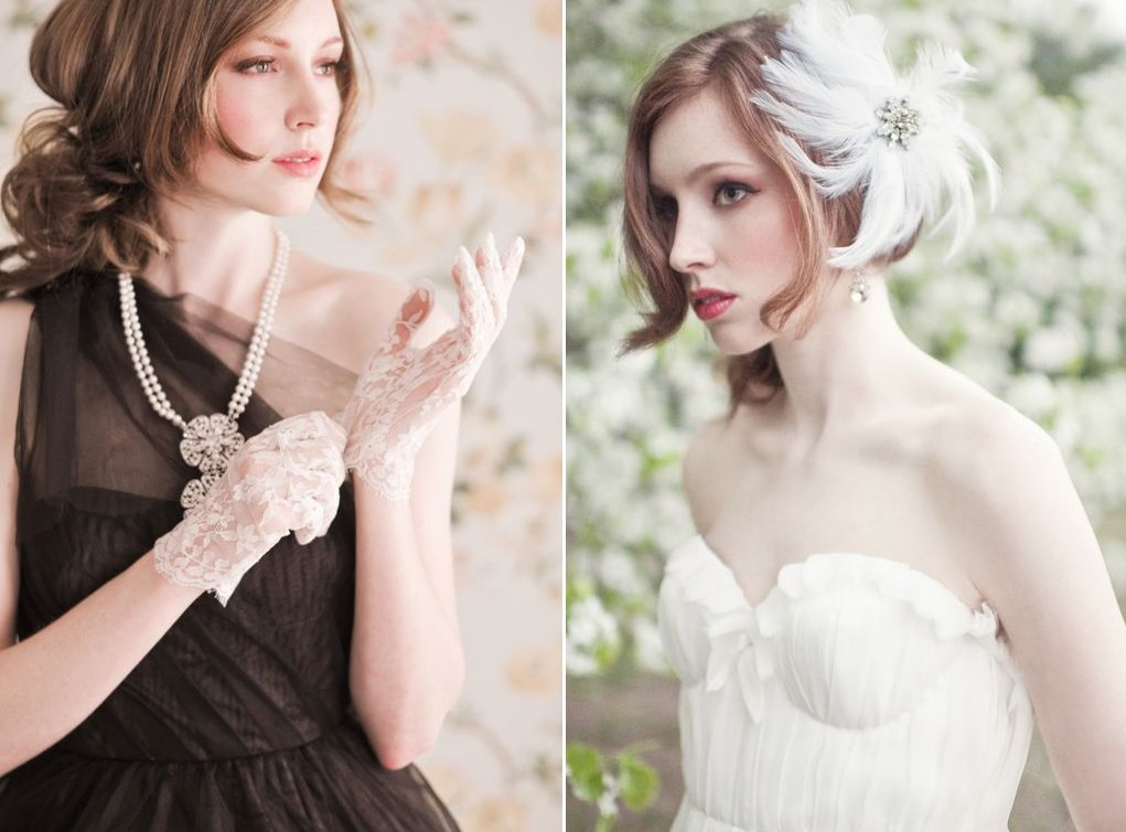 Vintage-inspired-bridal-accessories-wedding-gloves-fascinator-lace-feathers.full