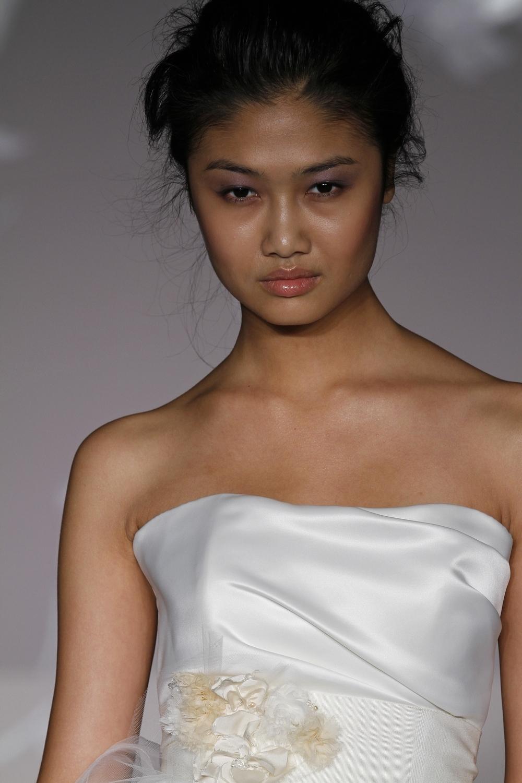1101-spring-2011-blush-wedding-dress-white-satin-floral-feather-applique.full