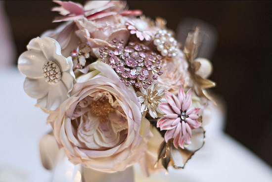 wedding flower alternatives bridal bouquets from Etsy romantic 2