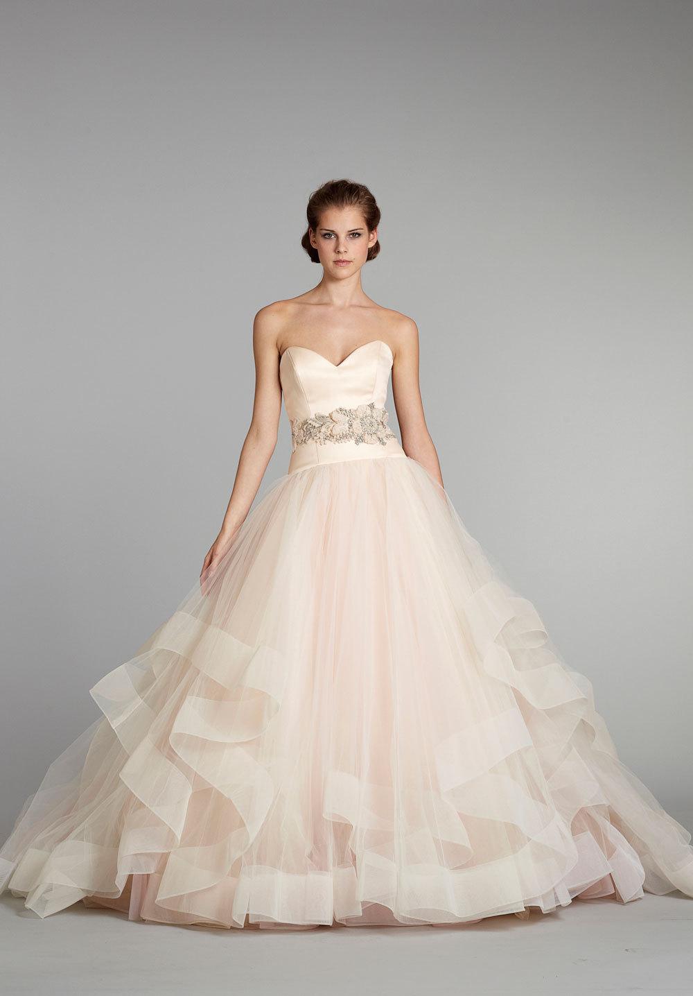 fall 2012 wedding dress Lazaro bridal gowns 3250 ballgown sweetheart