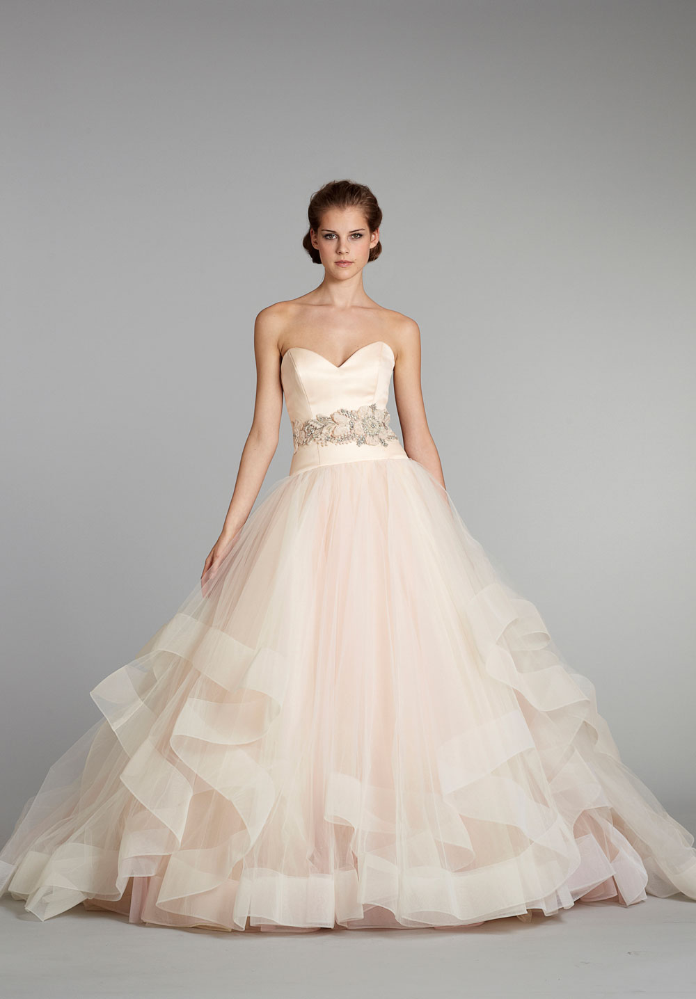 fall 2012 wedding dress lazaro bridal gowns 3250 ballgown