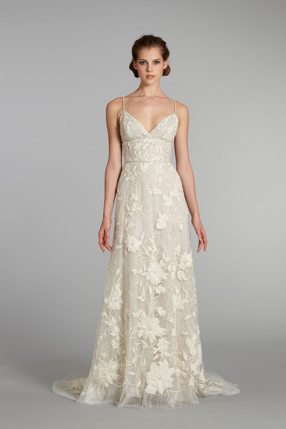 Fall 2012 wedding dress lazaro bridal gowns 3257 f for Where to buy lazaro wedding dresses