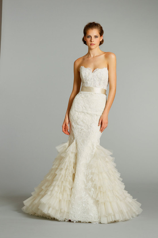 fall 2012 wedding dress Lazaro bridal gowns 3258 f