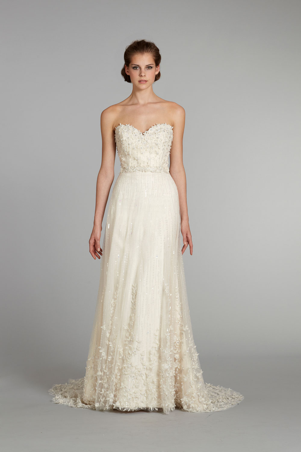 Fall 2012 wedding dress lazaro bridal gowns 3261 f for Where to buy lazaro wedding dresses