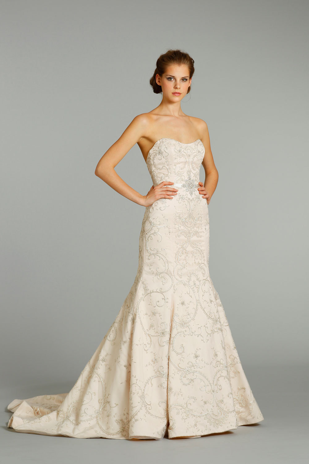 Fall 2012 wedding dress lazaro bridal gowns 3262 f for Where to buy lazaro wedding dresses