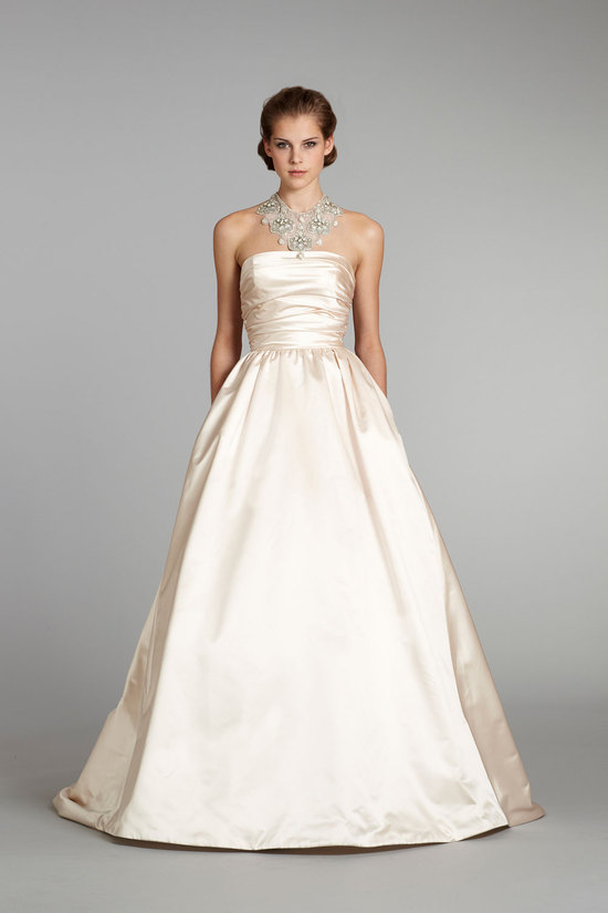 fall 2012 wedding dress Lazaro bridal gowns 3265