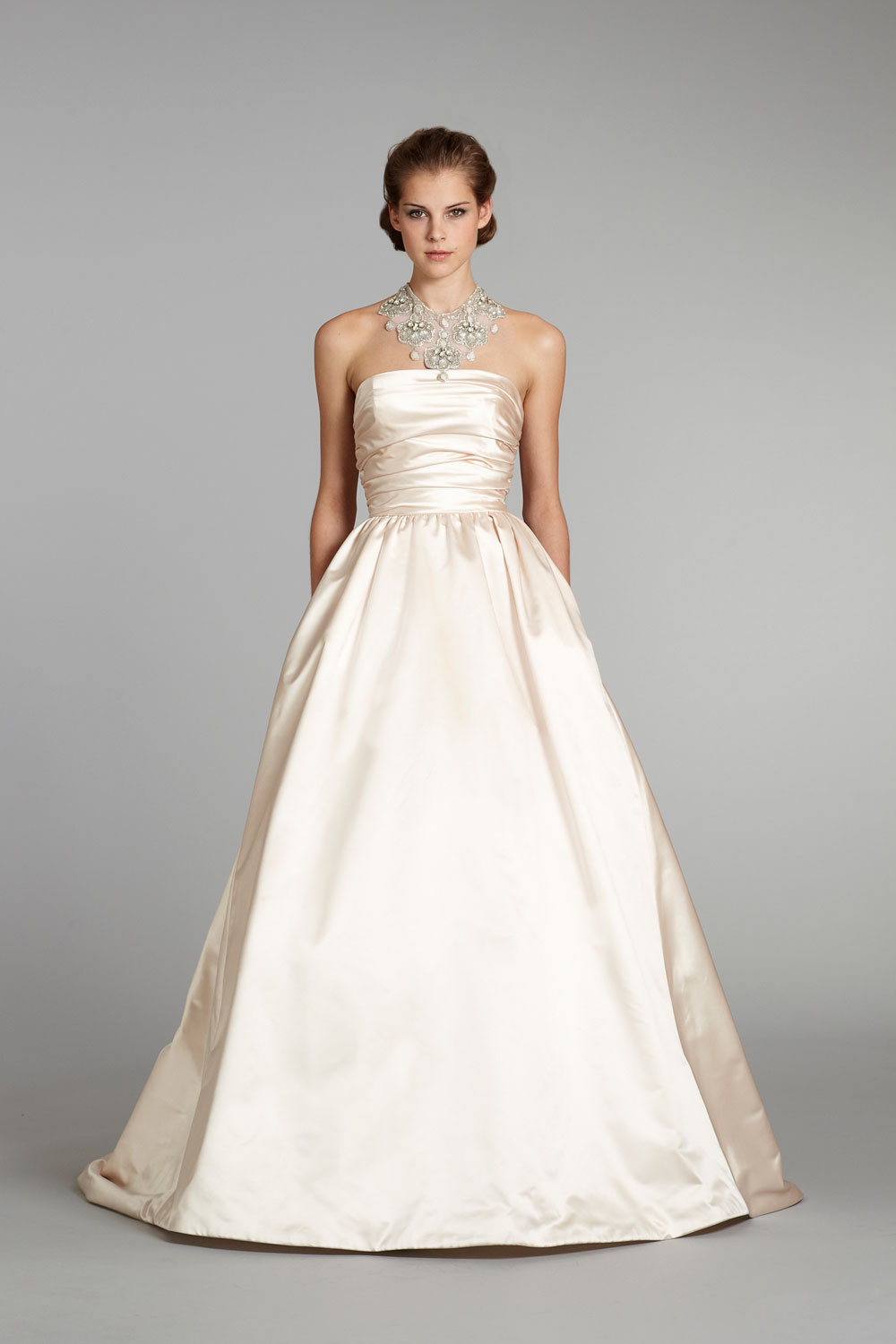 Fall 2012 wedding dress lazaro bridal gowns 3265 for Where to buy lazaro wedding dresses