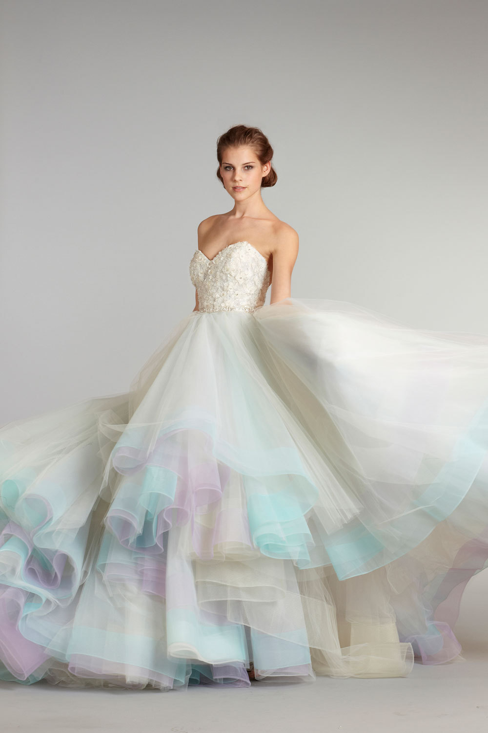 fall 2012 wedding dress Lazaro bridal gowns 3269