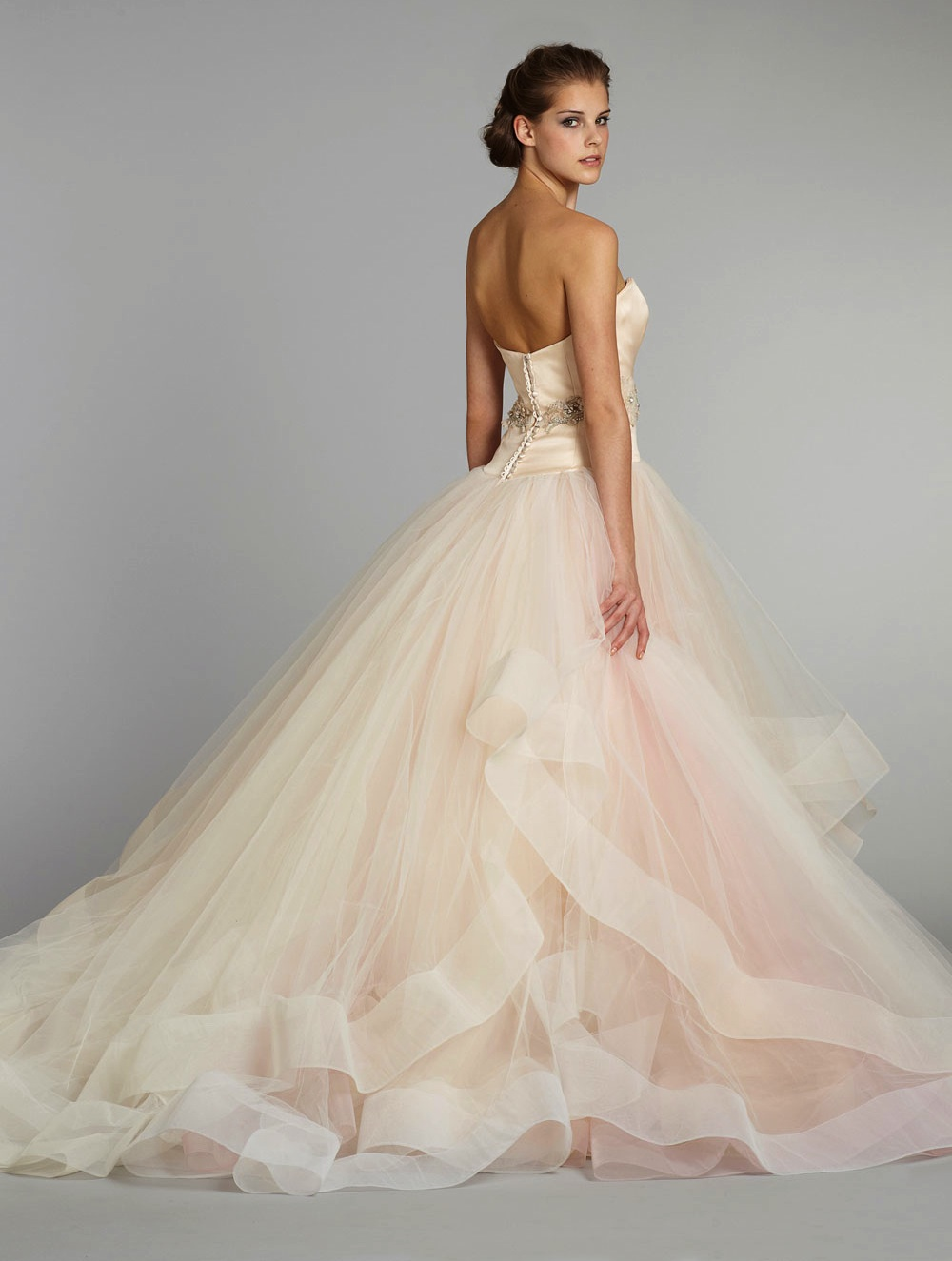 Fall 2012 wedding dress lazaro bridal gowns 3250 b for Where to buy lazaro wedding dresses