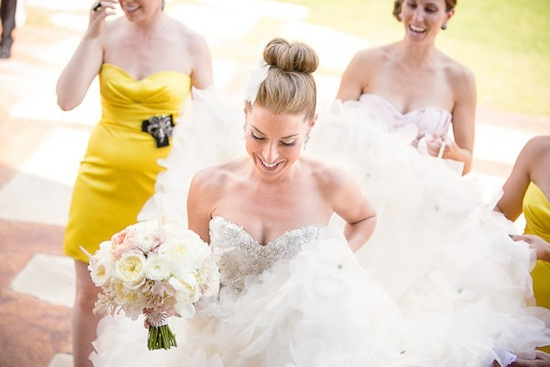 15 pretty bridal updos wedding hair inspiration high ballet bun