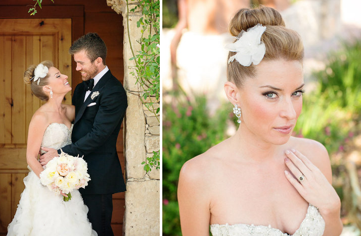 Bridal updos we love summer 2012 ballet bun - Chignon original ...