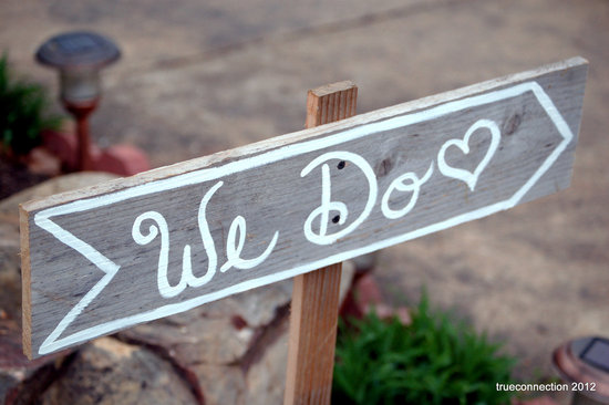 handmade wedding signs from Etsy personalized wedding ideas we do