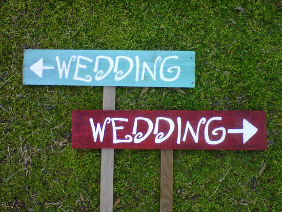 handmade wedding signs from Etsy personalized wedding ideas wedding twice