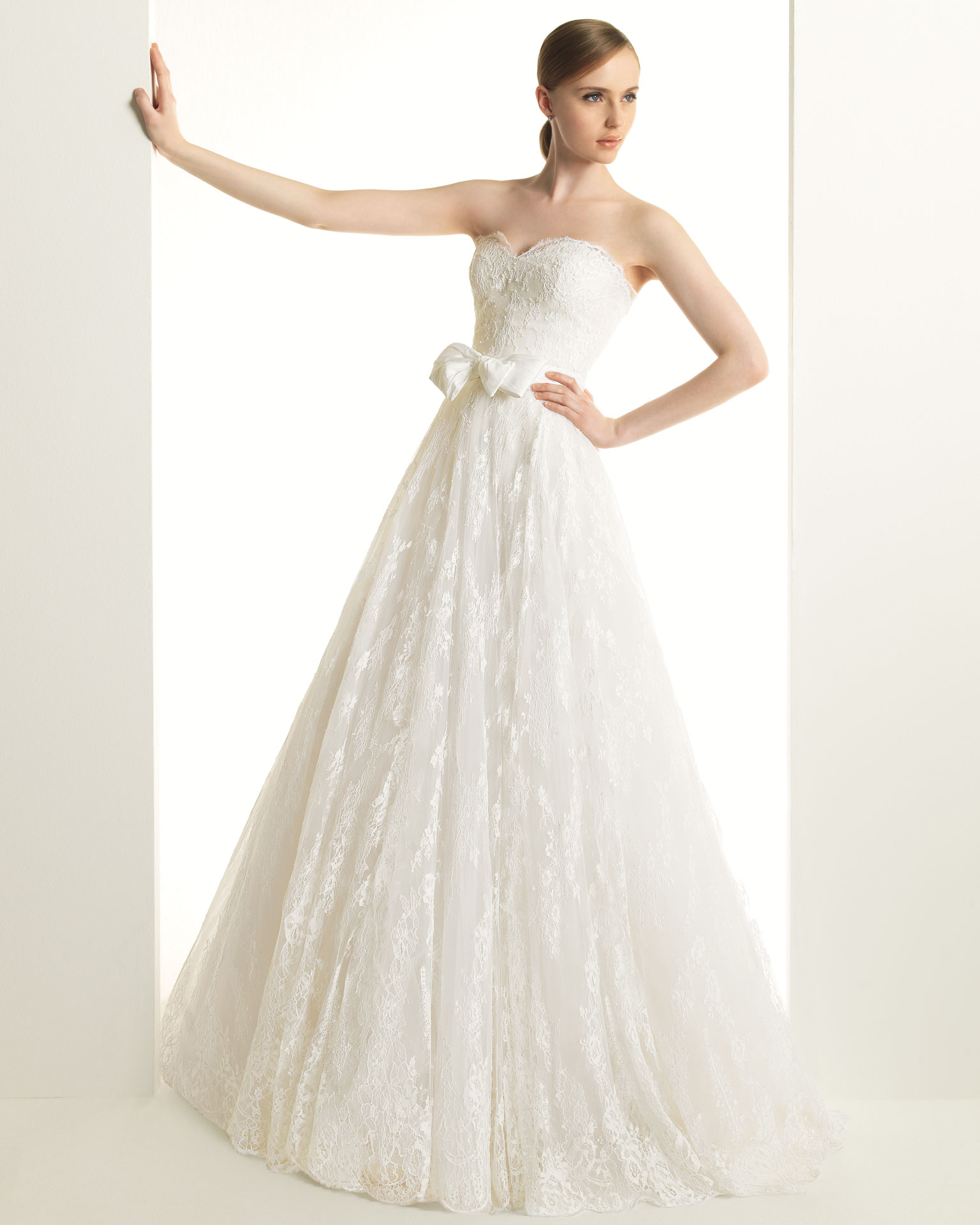 2013 wedding dress zuhair murad for rosa clara bridal for Zuhair murad wedding dress