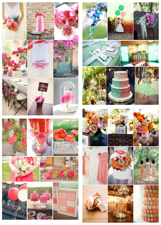 photo of All the pretty palettes to inspire your dream wedding