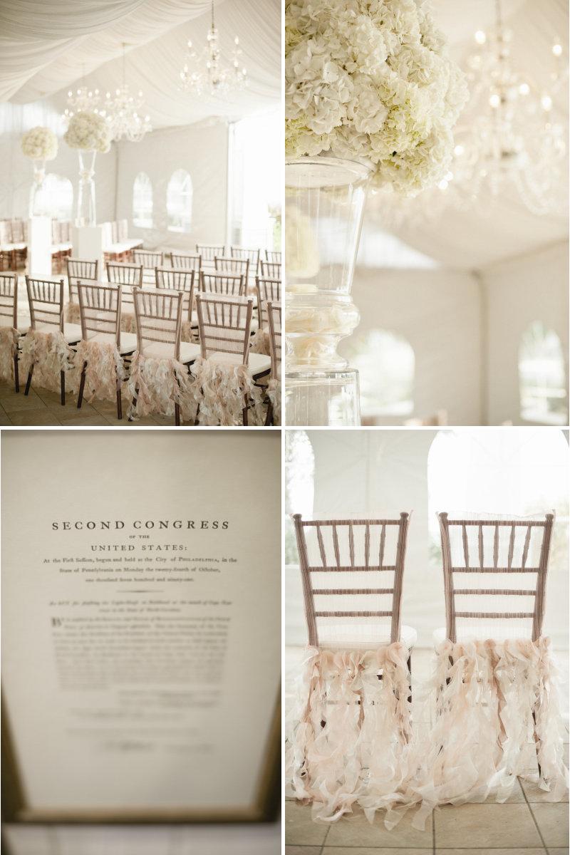 Neutral wedding colors elegant reception inspiration for Elegant neutral paint colors