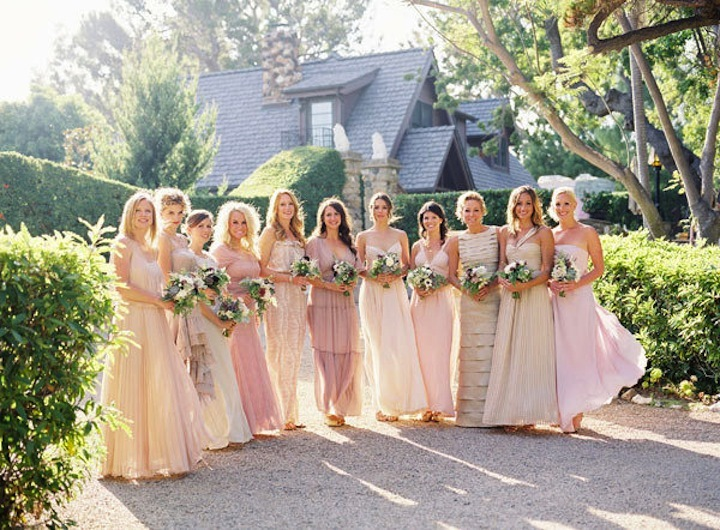 Mix-and-match-bridesmaids-neutrals-rosy-wedding-colors.full
