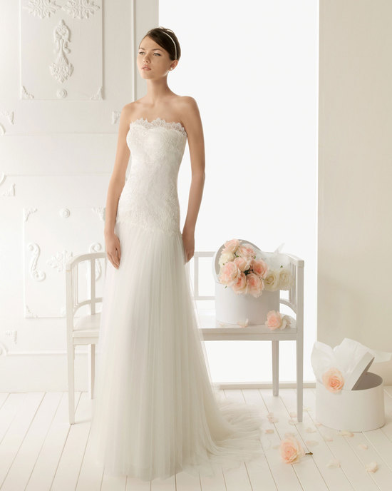 2013 wedding dress Aire Barcelona bridal gowns relato