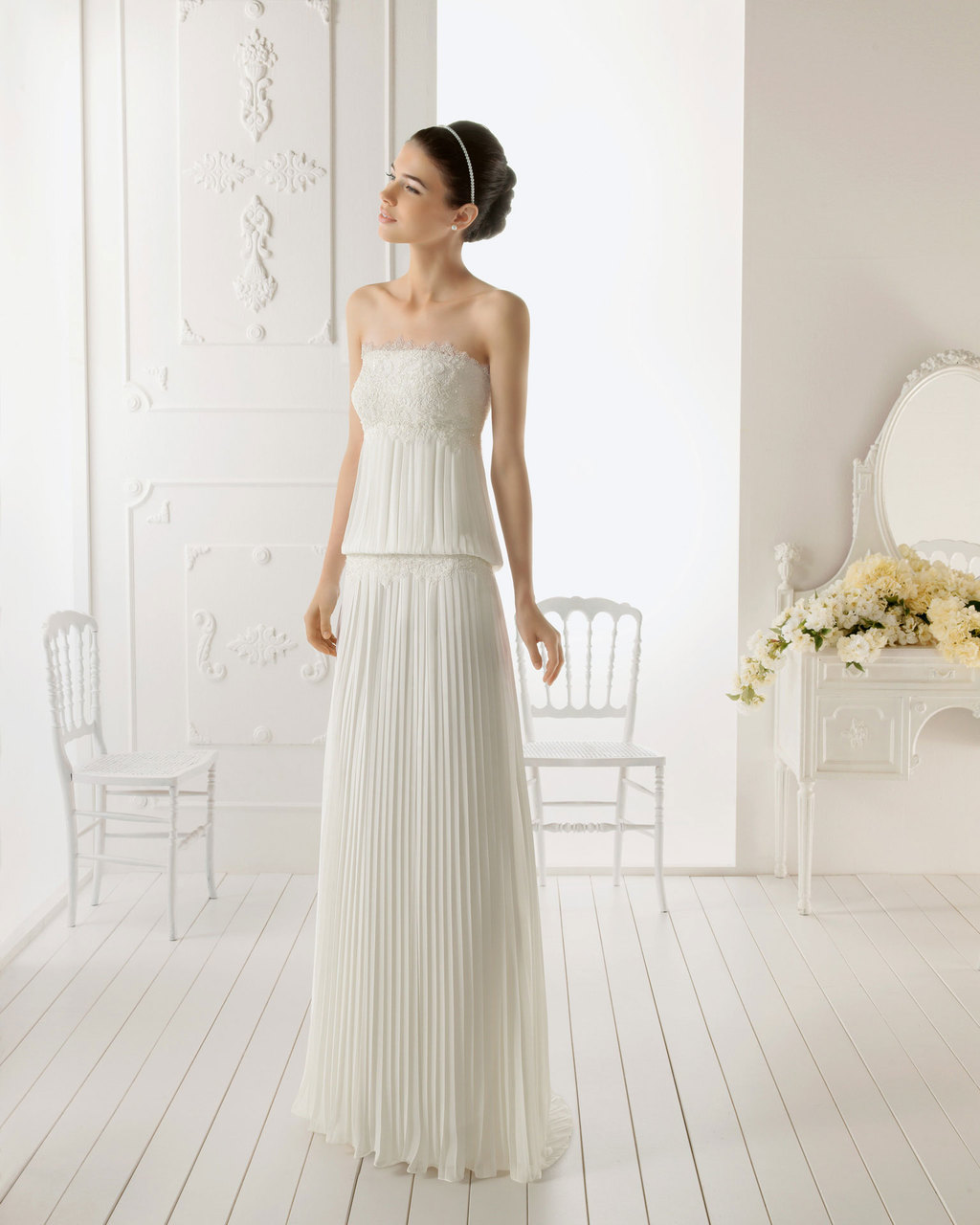 2013 wedding dress Aire Barcelona bridal gowns Remanso