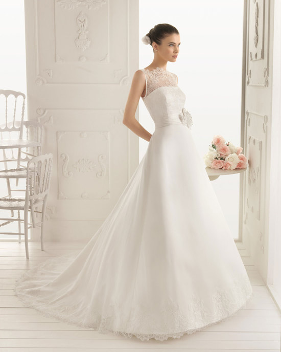 f4b45ac7b161 25 New Wedding Gowns from Aire Barcelona  Ideabook by onewed on OneWed
