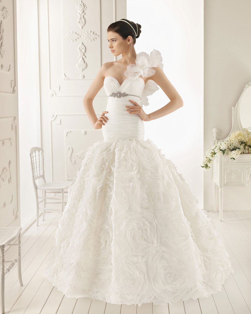 2013 wedding dress Aire Barcelona bridal gowns rona